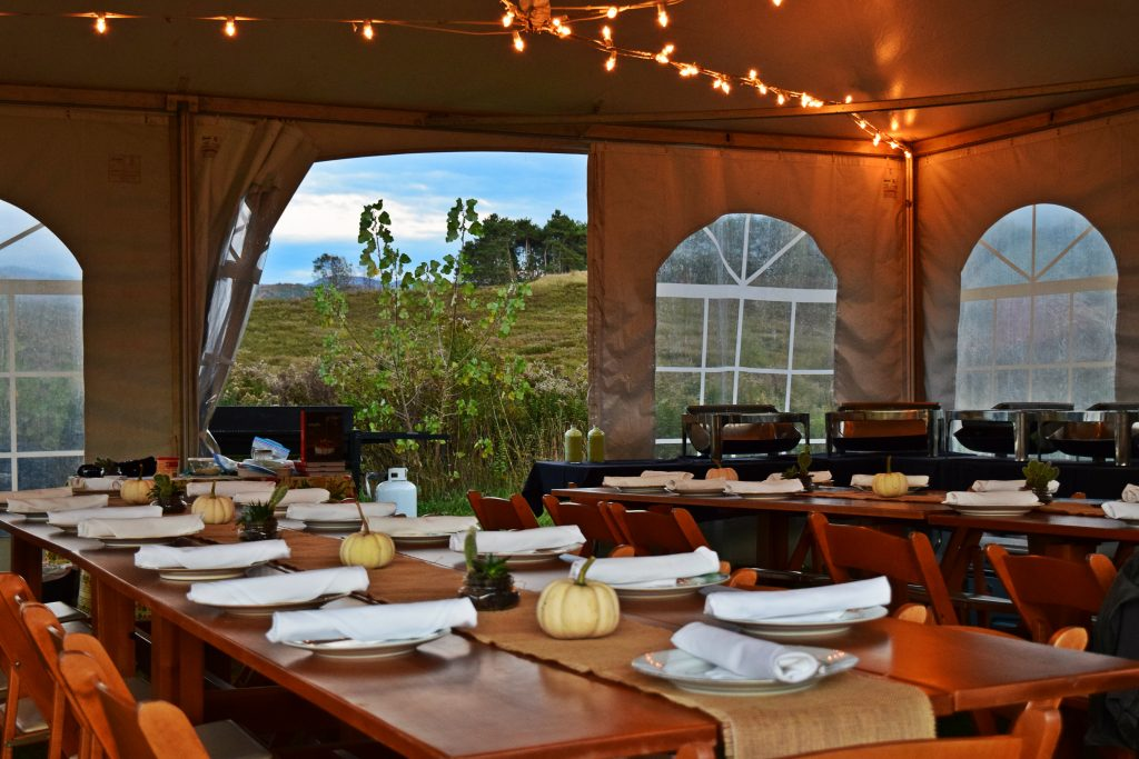 farm to table dinner