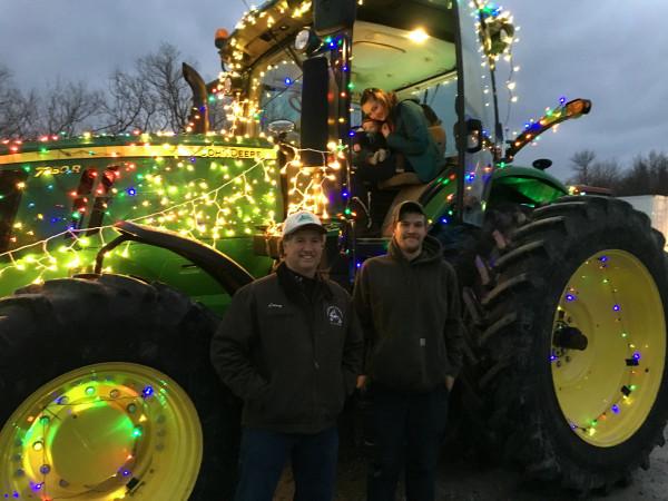 Farmers at Christmas