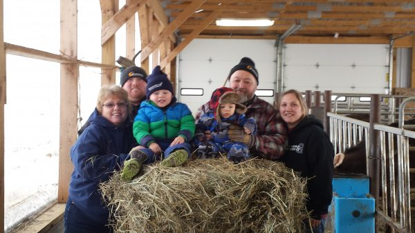 Iroquois Acres Farm Family