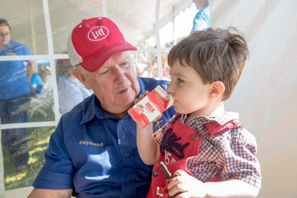 Raymond Vander Wey with Boy