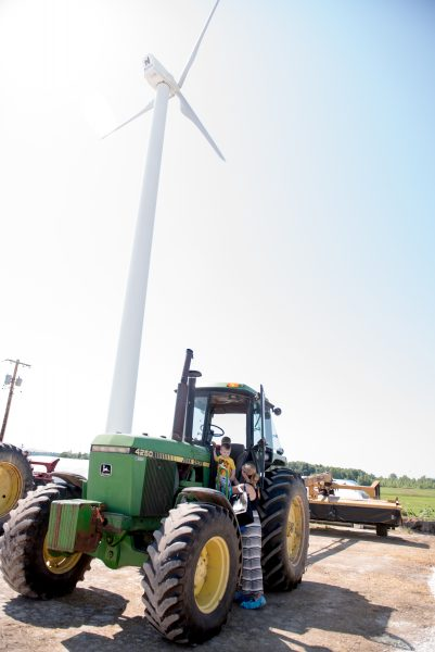 Windmill and tractor family
