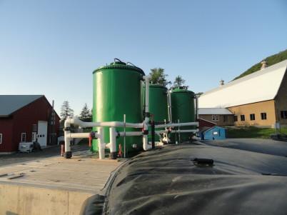 methane digester dairy farm