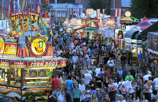 Crowds gather at The Big E