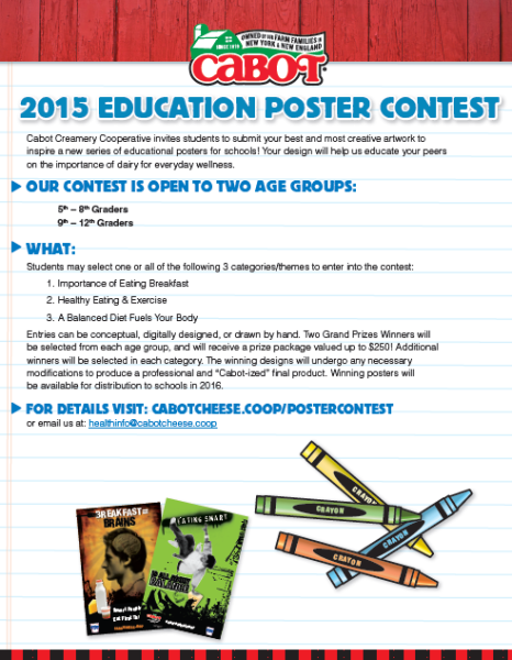 cabot poster contest