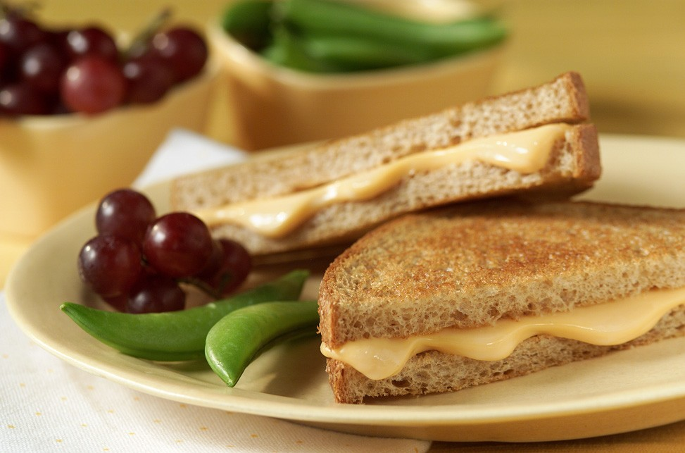 Celebrate National Grilled Cheese Month this April.