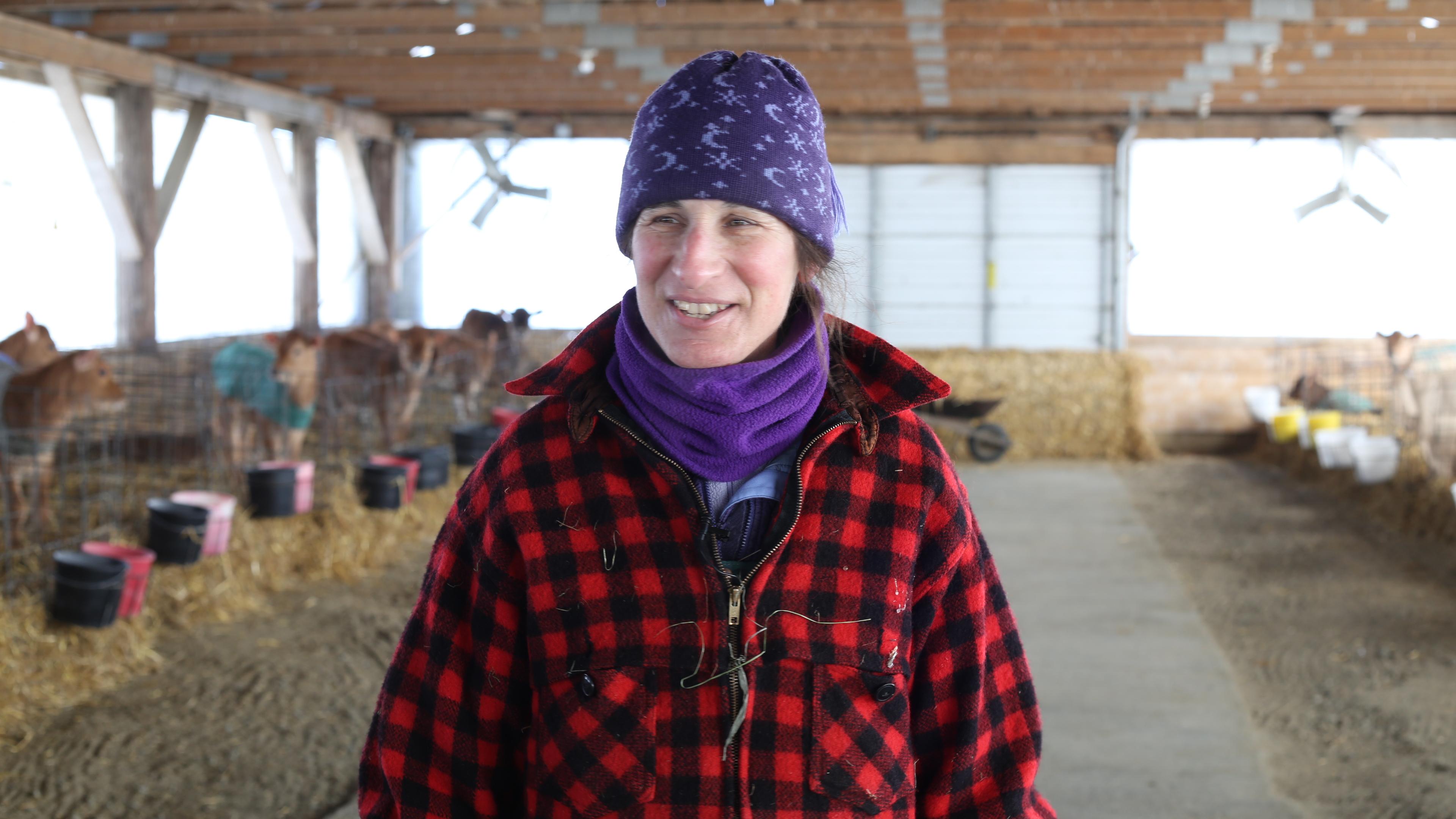 Johanna Laggis dairy farmer