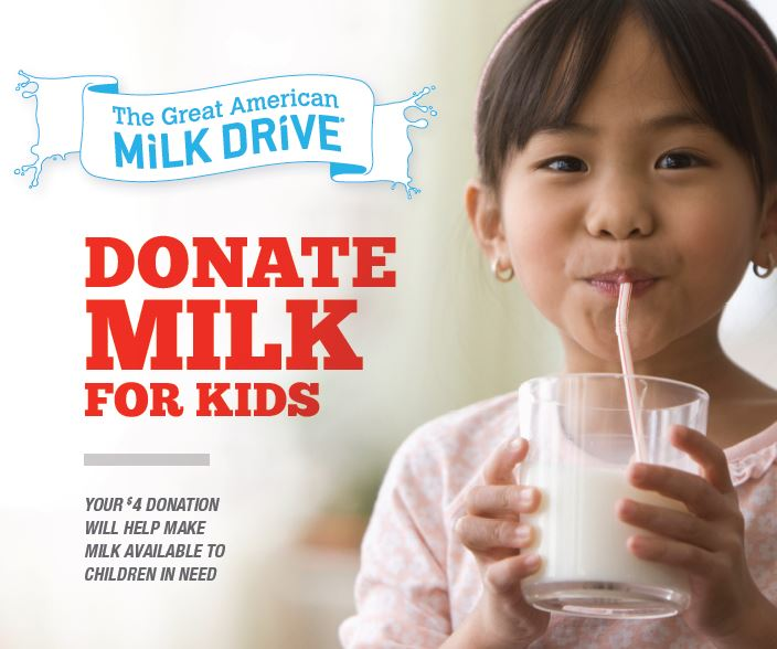 milk drive at stop and shop