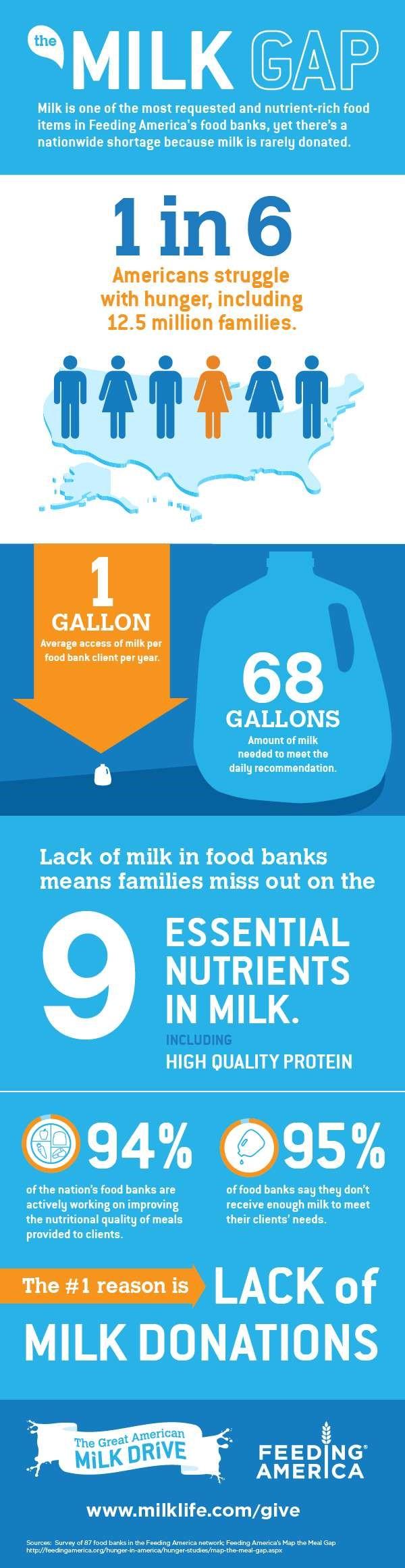 bridging milk gap