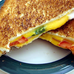 Spicy Grilled Cheese Sandwich Photo Courtesy of All Recipes