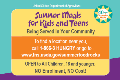 summer meals logo usda